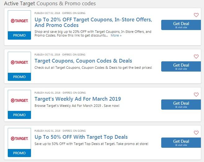 Target Shopping Guide