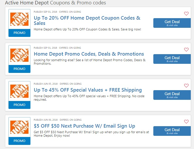 Home Depot 10 Off Coupon Moving 10 Off Code Online