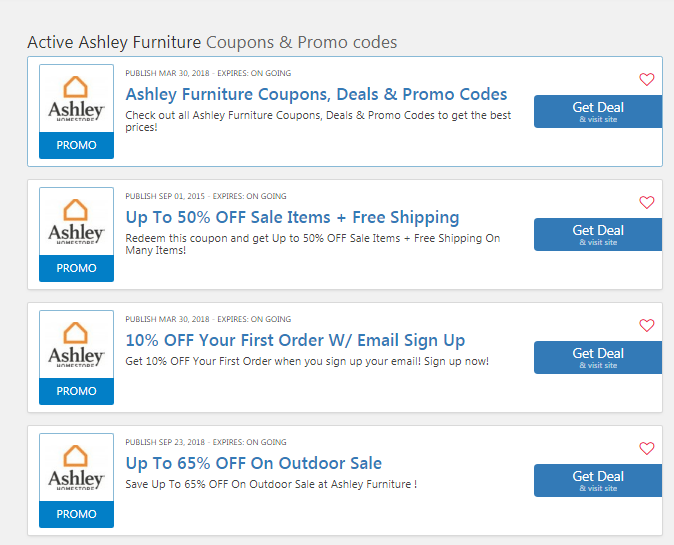 Ashley Furniture 100 Off Coupon For Clearance Sales 2019