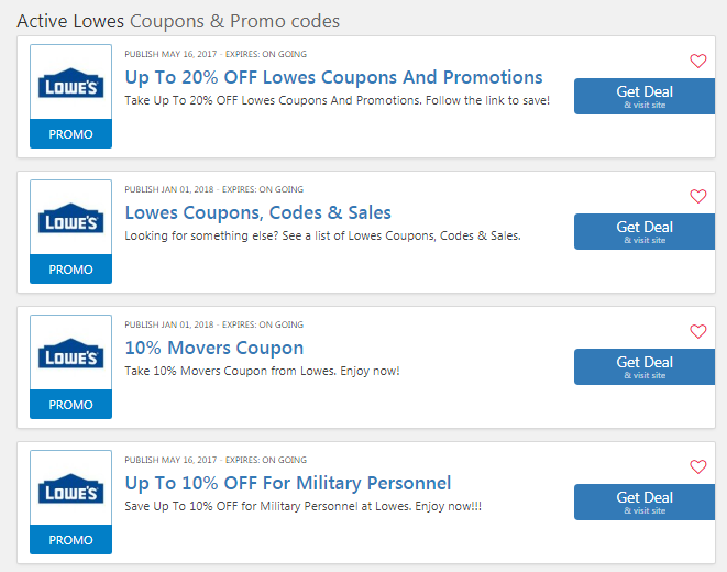 lowes coupon code 2020