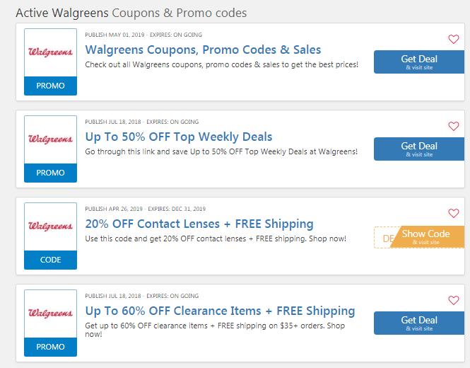 Walgreens Photo Coupons 50 OFF: Free Shipping No Minimum 2019