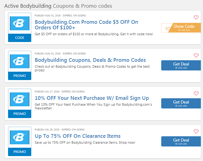 coupon code for bodybuilding com free shipping