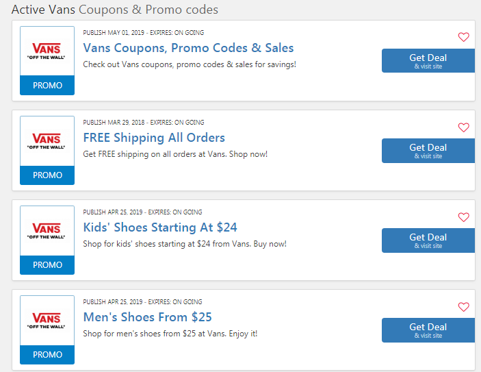 graphic relating to Vans Printable Coupons named Vehicles Coupon Code 20% OFF: 20 Funds OFF Coupon 2019
