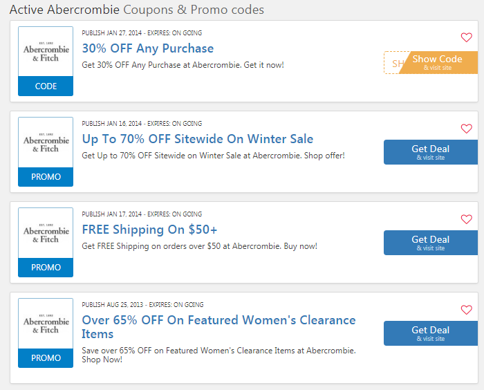 abercrombie $10 off coupon