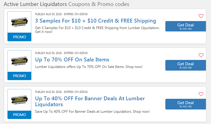 Lumber Liquidators Coupons & Promo Codes 09 2019