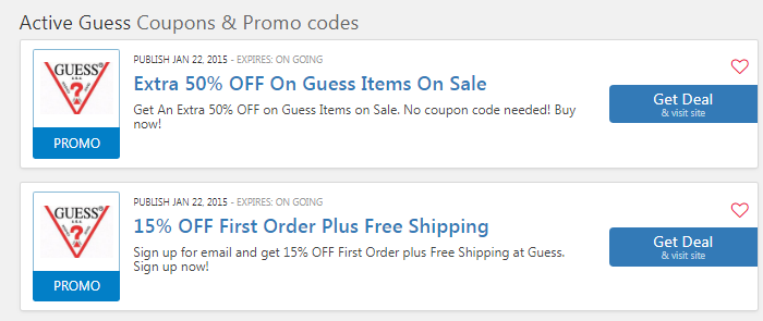 Guess Promo Code $25 OFF: 25 OFF Coupon 2019