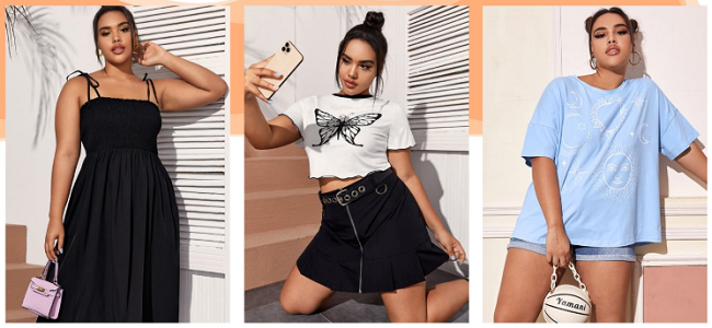SheIn clothing plus size