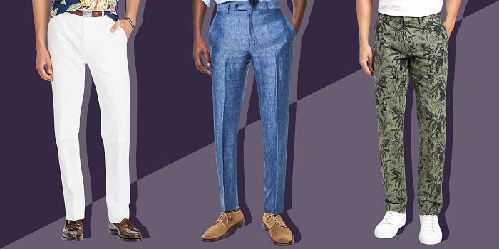Banana Republic mens linen pants